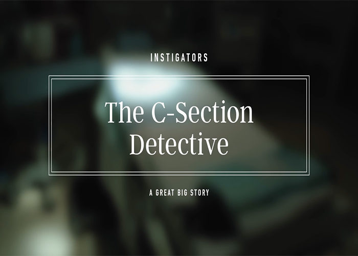 The c-section detective